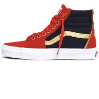 Vans x Marvel Sk8-Hi Women's Sneakers Captain Marvel / True White