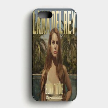 Lana Del Rey Born To Die iPhone SE Case