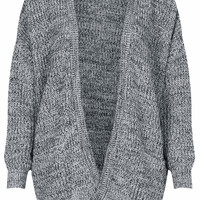 Tweedy Rib Cardigan