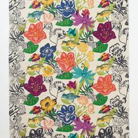 Bouvardia Crewelwork Rug by Anthropologie Multi