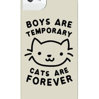 CATS ARE FOREVER IPHONE CASE