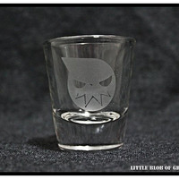 Soul Eater Shot Glass - Also available on a shooter