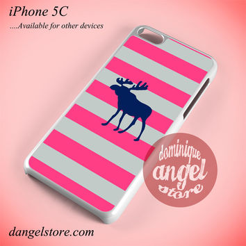 Abercrombie And Fitch Pink Blaster Phone case for iPhone 5C and another iPhone devices