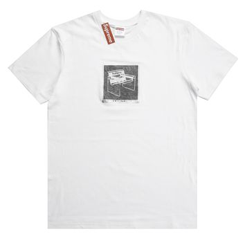 Supreme 18ss Chair Tee White T-shirt - Best Online Sale
