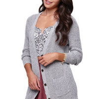 LA Hearts Button Front Cardigan at PacSun.com