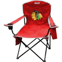 Chicago Blackhawks NHL Cooler Quad Tailgate Chair