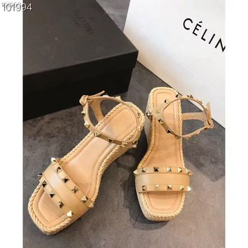 357715395 Valentino Women Casual Shoes Boots fashionable casual leather W