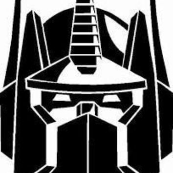 Transformer Vinyl Car Decal