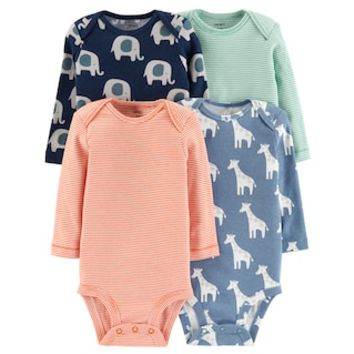 Baby Boy Carter's 4-pack Graphic Bodysuits | null
