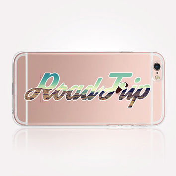 Transparent Road trip iPhone Case - Transparent Case - Clear Case - Transparent iPhone 6 - Transparent iPhone 5 - Transparent iPhone 4