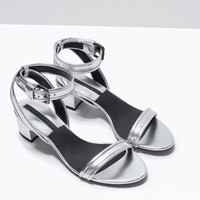 Summer Roman With Heel Shoes [4918359812]