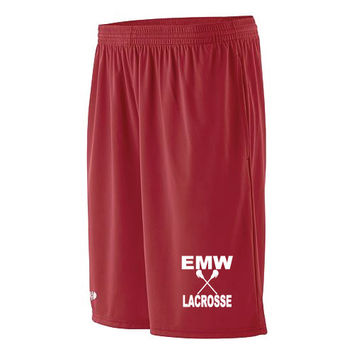 EMW Mens Lacrosse Youth Pocketed Whisk Short