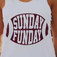 Football Sunday Funday Tank