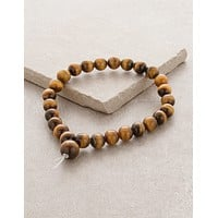 High-Energy Tiger Eye Wrist Mala