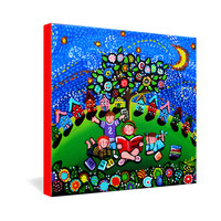 Renie Britenbucher Reading Is Magical Gallery Wrapped Canvas