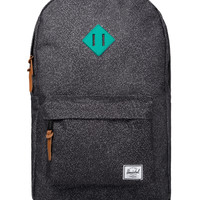 Speckle/Teal Rubber Heritage Backpack