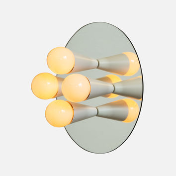 Echo 4 Sconce - White