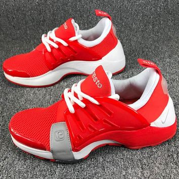 NIKE AIR PRESTO thick winter jogging shoes F-CSXY red