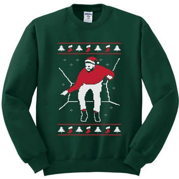 1-800 Hotline Bling ugly Drake Christmas Many Color sweater unisex adults