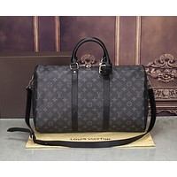 LV Luggage Bag Travel Bag Fashion Big Bag Print Tote Handbag