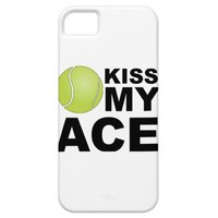 Kiss my Ace! Tennis iPhone 5 Cover