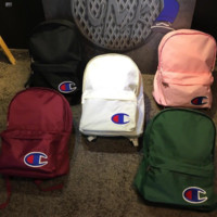 Champion New fashion large capacity backpack champion bag five color