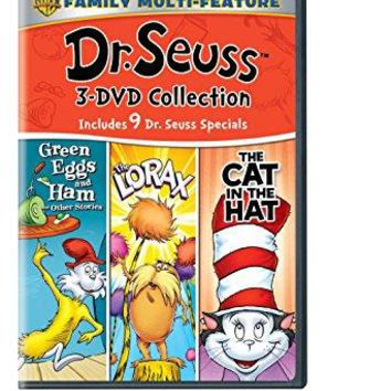 Various - Dr. Seuss Triple Feature: (Green Eggs and Ham / The Lorax / The Cat In The Hat)