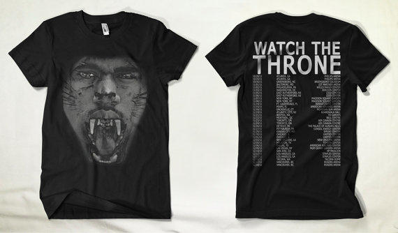 Yeezus Shirt Watch the throne shirt kanye from ThePetersch on