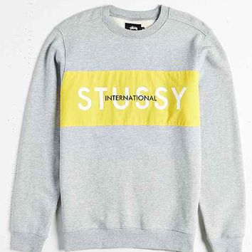 Stussy International Panel Sweatshirt