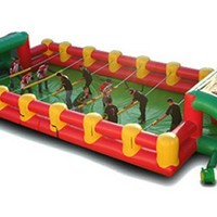 EZ Inflatables Inflatable Foosball Game Bounce House | www.hayneedle.com
