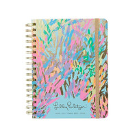 Lilly Pulitzer 2017-2018 LARGE AGENDA - SPARKLING SANDS