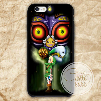 the legend of zelda majora iPhone 4/4S, 5/5S, 5C Series Hard Plastic Case