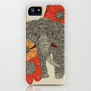 The Elephant iPhone & iPod Case by Valentina Harper