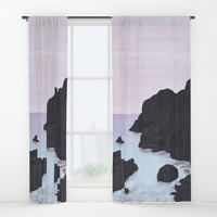 The sea song Window Curtains by anipani