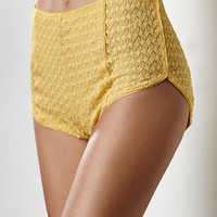 Somedays Lovin Free Road Lace High Waisted Soft Shorts at PacSun.com