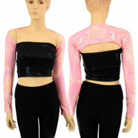 "On Point Pink ""Samba Sleeve"" Dance Shrug"