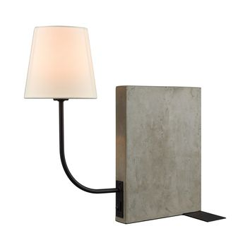 D3206 Sector Shelf Sitting Table Lamp - Free Shipping!
