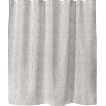 CLUSTER PEACH Shower Curtain By Tiffany Wong