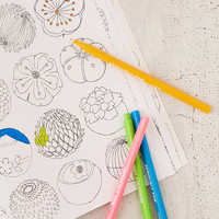 Felt Tip Markers Set | Urban Outfitters