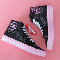 Anti Social Social Club x DSM x Vans Vault Skateboarding Shoes 35-44