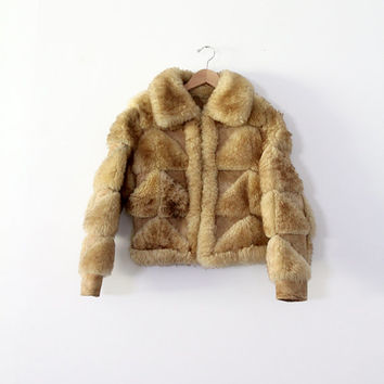Vintage Fur Coat / Shearling Jacket