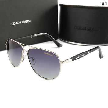 Giorgio Armani trend men's fashion polarized sunglasses #1