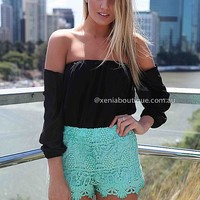 EXQUISITE RUSH SHORTS , DRESSES, TOPS, BOTTOMS, JACKETS & JUMPERS, ACCESSORIES, $10 SPRING SALE, PRE ORDER, NEW ARRIVALS, PLAYSUIT, GIFT VOUCHER, $30 AND UNDER SALE,,SHORTS Australia, Queensland, Brisbane