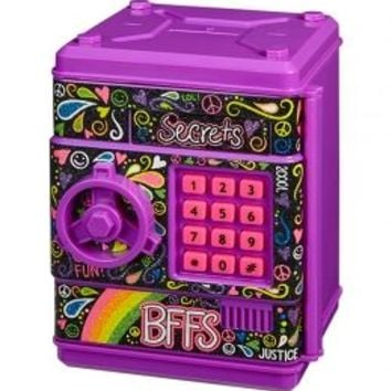 Paisley Electronic Push Code Safe | Girls Organization Room Decor | Shop Justice