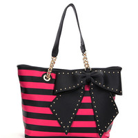 Betsey Johnson Bow-Lette Tote | Dillards