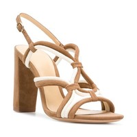 Alexandre Birman Giovanna Intertwined Strap Sandals - Farfetch