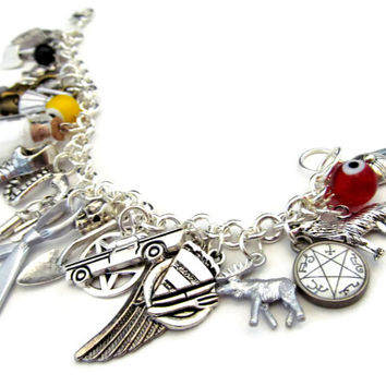 A Hunter's Charms: Deluxe Supernatural Charm Bracelet