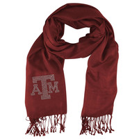 Texas A&M Aggies NCAA Pashi Fan Scarf (Dark Red)