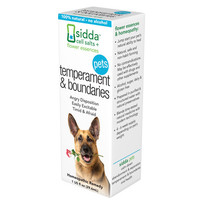 Sidda Flower Essences Temperment And Boundaries - Pets - 1 Fl Oz