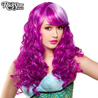 RockStar Wigs® Show Girl Collection - Lavender Magenta Blend - 00723